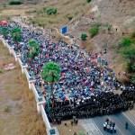 caravana - Guatemala detecta 21 casos de COVID-19 en migrantes que viajaban en caravana hacia EU