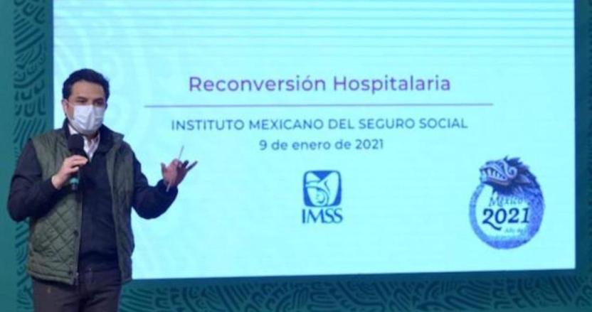 foto 2 19 1 - El IMSS aumentará la capacidad de sus hospitales COVID-19 en 8 estados por aumento de contagios