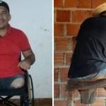 hombre piernas construccion casa - A pesar de no tener piernas construye un hogar para su familia. Por ellos hace lo que falte