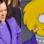 kamala lisa - ¿Los Simpson predijeron el atuendo de Kamala Harris en la investidura? Fans la comparan con Lisa