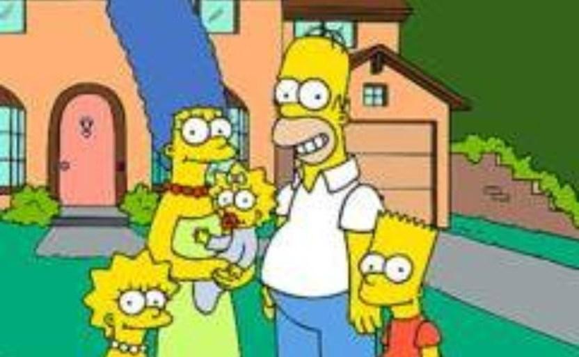 los simpson crop1611093860898.jpg 1741999592 - Pierde la vida David Richardson ¡Escritor de Los Simpson!