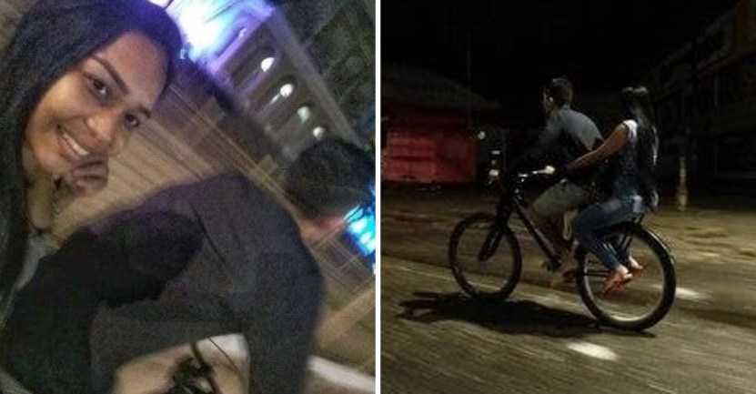 novio bicicleta novia - Recorría 36 km a diario para buscar a su novia al trabajo y le regalarán una moto. Su amor lo vale