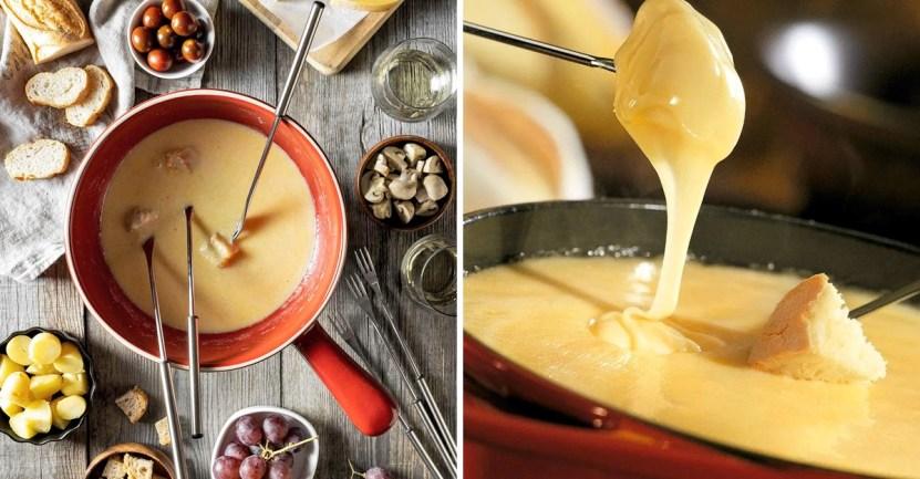 portada esta receta fondue suiza queso derretido maxima expresion lujo apto invierno - Esta receta de fondue suiza es el queso derretido en su máxima expresión. Lujo apto para el invierno