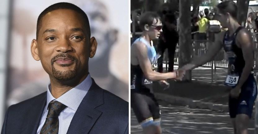 portada will smith confeso haber llorado noble gesto triatleta - Will Smith confesó haber llorado de emoción con el noble gesto de un triatleta. Alabó su integridad
