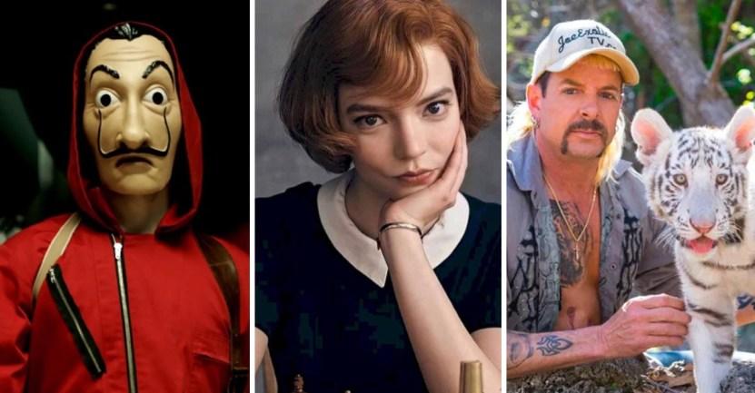 series mas vistas - Estas son las 10 series más vistas de Netflix en 2020. Gambito de Dama fue la gran sorpresa del año