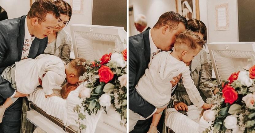 hermano beso despedida - Niño siente a su hermano vivo, luego de despedirlo con un beso. Ellos aún ríen y juegan juntos