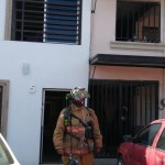 incendio en un negocio en el centro de los mochis.jpg 242310155 - Reporte de incendio en Los Mochis moviliza cuerpos de emergencia