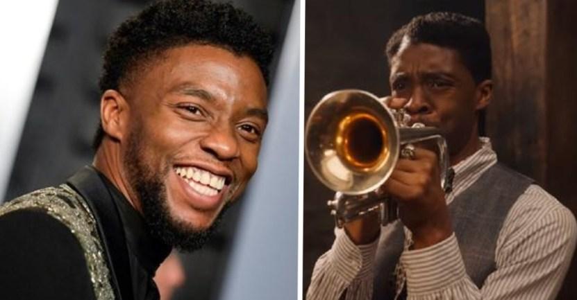 """portada chadwick boseman globos - Chadwick Boseman logra nominación póstuma en los Globos de Oro. Emotiva categoría de """"Mejor Actor"""""""