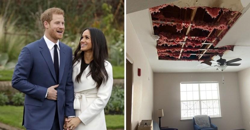 techo - Príncipe Harry y Meghan Markle hicieron donación para reparar un refugio. Se destruyó tras tormenta