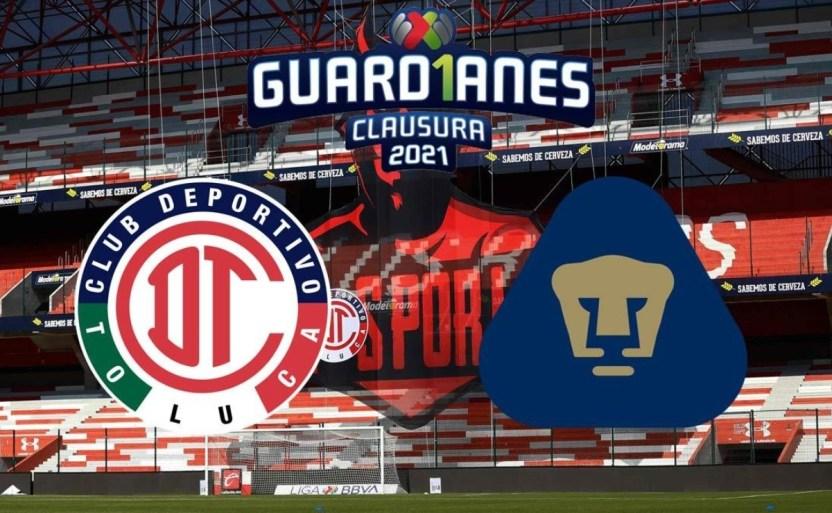 toluca vs pumas 2 crop1613326113492.jpg 242310155 - Sigue EN VIVO el Toluca vs Pumas en la Liga MX