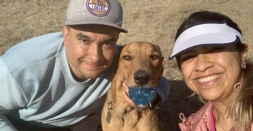 """Fondo perro adoptado calle - """"No sustituye a un niño pero para nosotros es una alegría"""": Adoptaron a cachorro que les pidió ayuda"""