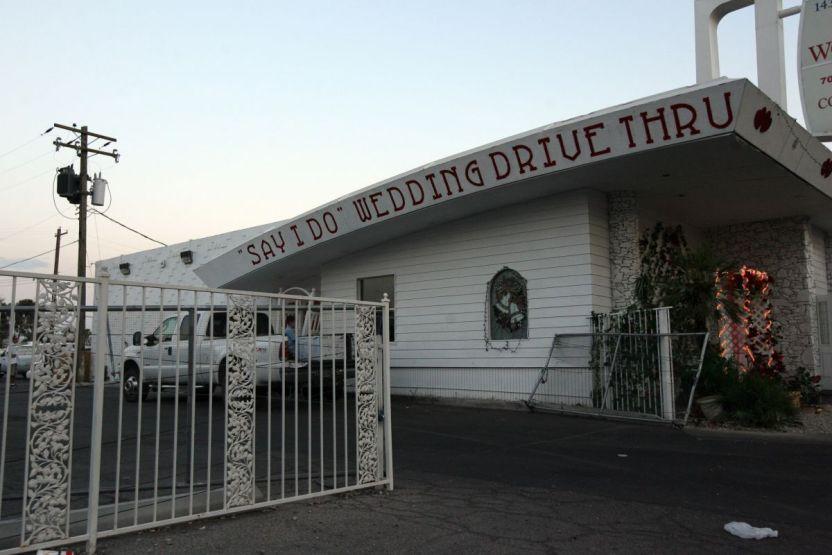 GettyImages 75282848 - Usurpadores se metieron a una capilla de bodas de Las Vegas y encontraron un cadáver
