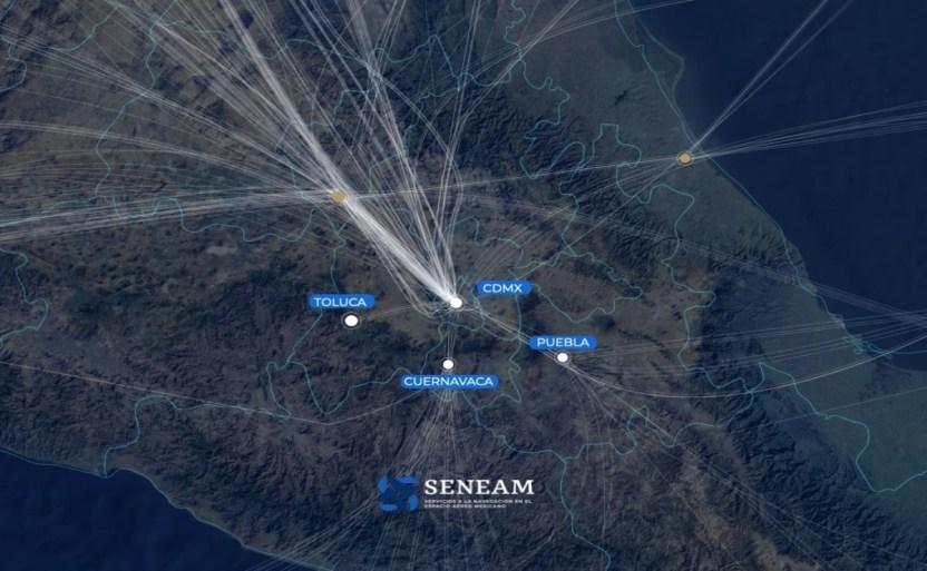 redisenxo espacio aexreo mexxico stc.jpg 242310155 - Inicia rediseño de espacio aéreo en Valle de México: STC