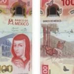 billete100 sorjuana.jpg 242310155 - Billete 100 Sor Juana Inés de la Cruz billete del año 2020