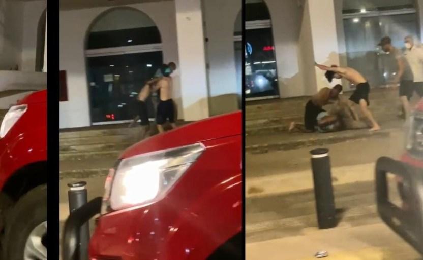 dos jxvenes golpean a un hombre en mazatlxn 1 crop1617438938702.jpg 242310155 - Video. Dos jóvenes golpean a un hombre en Mazatlán