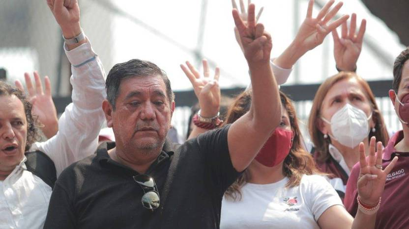 felix salgado macedonio ine protesta ciudad de mexico 980x550 1 - ¡El INE lo hizo!; deja fuera de la elección a Salgado Macedonio