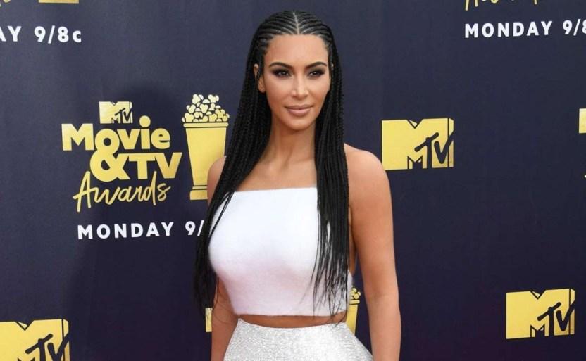 kim kardashian west afp.jpg 117894779 - Bañador beige de Kim Kardashian ¡Parece su segunda piel!