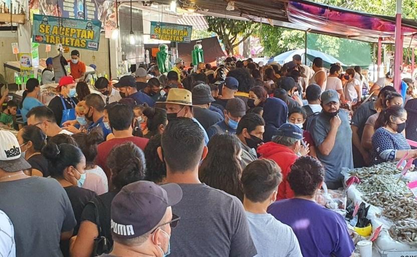 mercado del mar crop1617426062266.jpg 242310155 - Saturan mercados del mar en Jalisco por abstinenciade carnes rojas en Viernes Santo