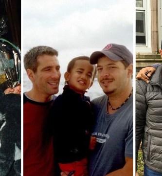 nino encontrado metro 3 - Bela evolução: 15 fotos de um garoto adotado por um casal homossexual que o encontrou no metrô