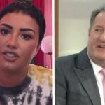 """portada demi piers 1 - """"Vous êtes arrogante"""": un journaliste critique Demi Lovato pour avoir accusé un glacier d'être """"grossophobe"""""""