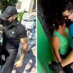 stripers dia de la madre alcaldesa mexico  - Alcaldesa mexicana celebró a las mamás de Yucatán con stripers en su día. Iban vestidos de policías