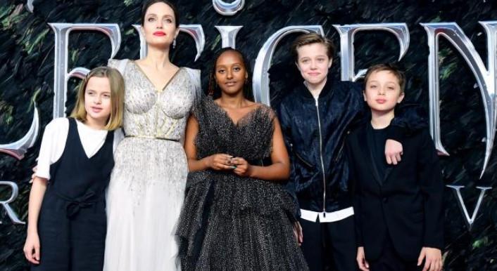 Angelina hijos - Angelina Jolie denunció el racismo que han recibido sus hijos durante la última década
