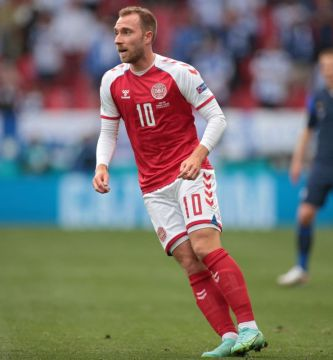 GettyImages 1233415526 - La Federación Danesa informó que Christian Eriksen permanece estable