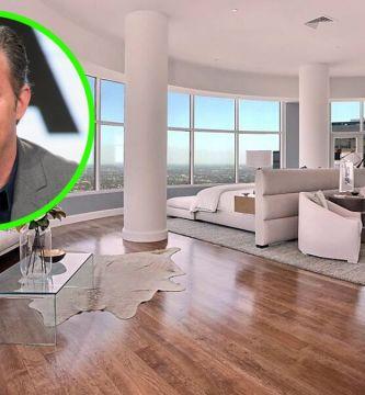 matthew perry mansion - Así es la 'mansión en el cielo' que Matthew Perry, actor de 'Friends', malvendió en LA