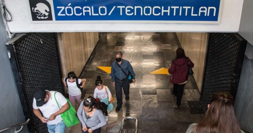metro zocalo - ¡No se te pase! Metro Zócalo de la CdMx estará cerrado por visita de Kamala