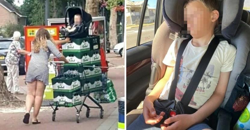 papas - 14 fotos de papás que se comportaron como unos completos idiotas con sus hijos
