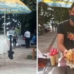 Fondo chico vende tras perder empleo - Chico usó sus ahorros y abrió un puesto de hot dogs tras perder su empleo en pandemia. No se rinde