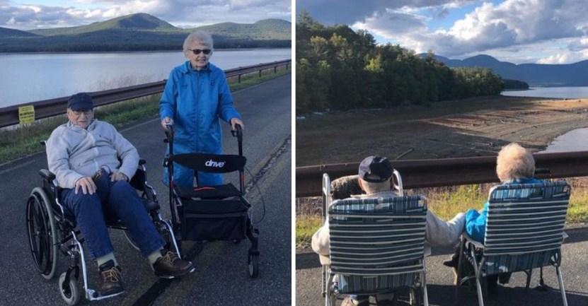 abuelos amor casados 1 - Abuelos viudos encuentran de nuevo el amor y se casaron a los 95 años. Se conocieron en la pandemia