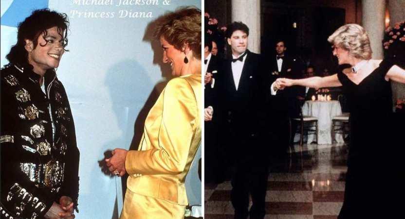 famosos princesa diana - 19 fotos de famosos que tuvieron la oportunidad de conocer a la princesa Diana de Gales