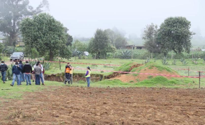 nuevo socavon puebla  - Denuncian la presencia de un nuevo socavón en Puebla