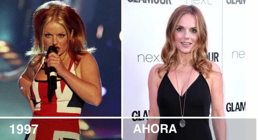 """spice girls actualidad - Así se ven en la actualidad las 5 integrantes de la recordada banda """"Spice Girls"""""""