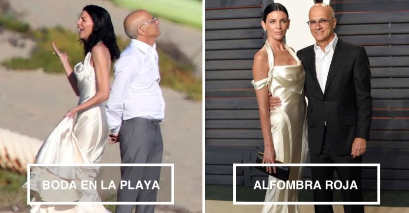 VESTIDOS 1 - 10 famosas que desempolvaron sus antiguos vestidos de novia y los volvieron a usar