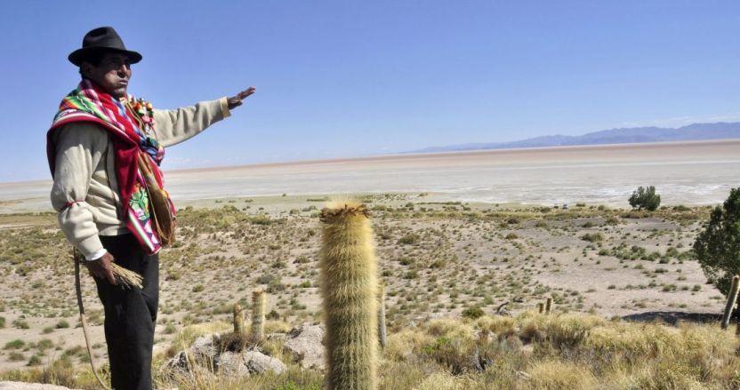 befunky collage 1 19 - El segundo lago más grande de Bolivia es un desierto. Y parece que así se quedará