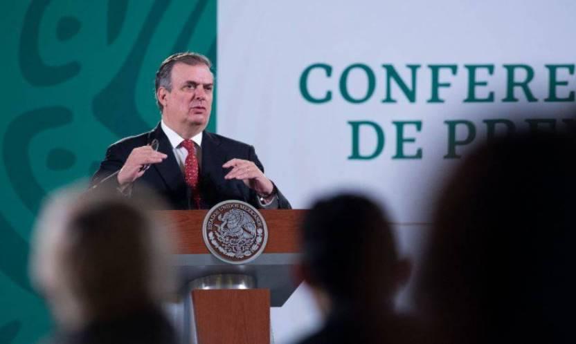 ebrard 100821 - Kamala Harris respaldó el programa de vacunación de México: Ebrard