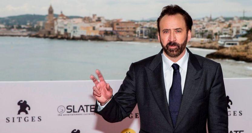 nicolas cage - Nicolas Cage interpretándose así mismo es la cinta más surrealista de CinemaCon