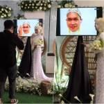 novia boda virtual - Video: Novio se casa por videollamada tras contagiarse de Covid-19 antes de la ceremonia