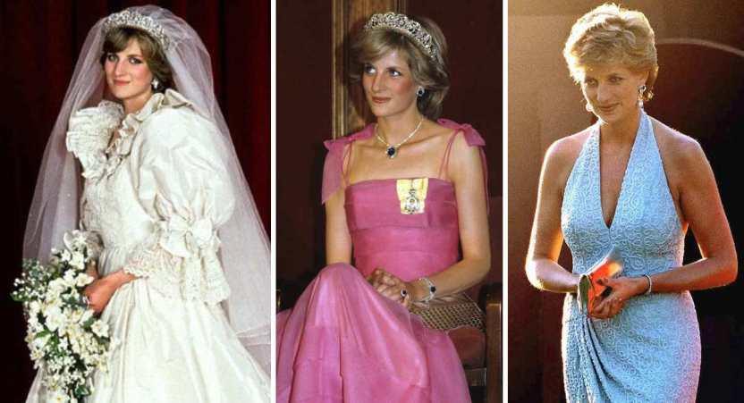 princesa diana atuendos - 20 elegantes atuendos con los que la princesa Diana se vio como una auténtica princesa