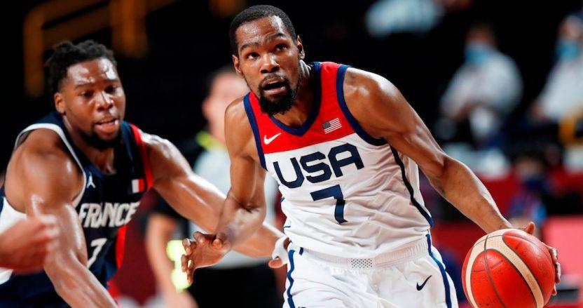 tokio basquet - EU vence 87-82 a Francia y gana el oro de basquetbol en los Juegos de Tokio 2020