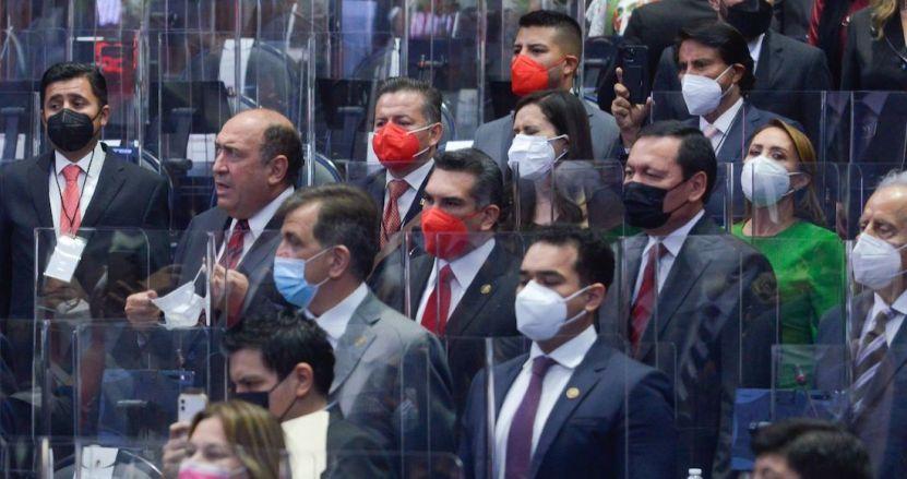 diputados - PRI, PAN y MC destacan diferencias con el Gobierno durante el arranque de Legislatura