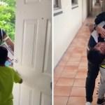 nino se reencontro con su papa despues de 2 anos - Niño se reencontró con su padre después de 2 años sin verlo. No podía dejar de llorar y de abrazarlo