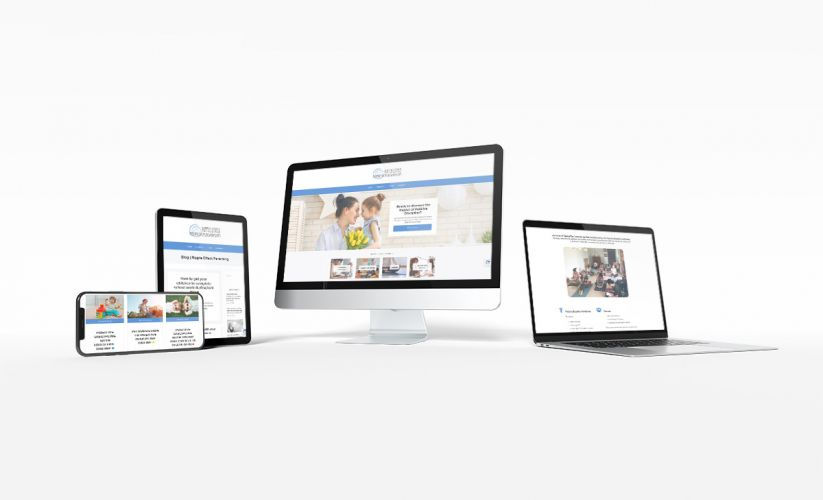 Ripple Effect Website Design