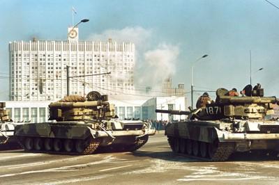 1993 Moskau Panzer gg Parlament