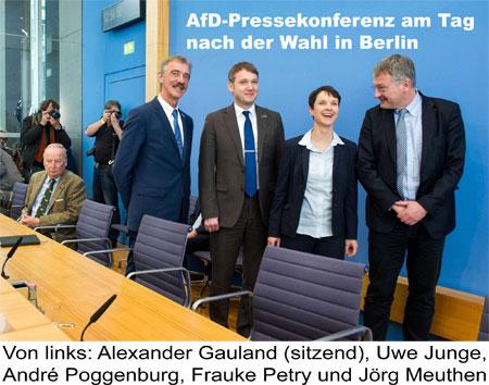 AfD-Pressekonferenz