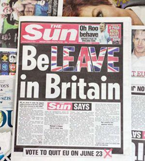 SUN Brexit Leave