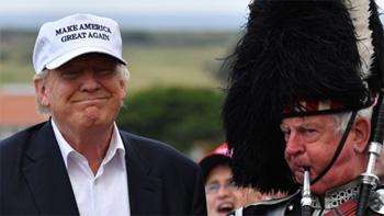 Trump in Schottland