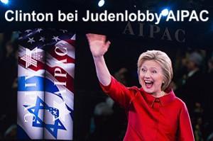 Clinton verspricht Juden Sturz von Assad